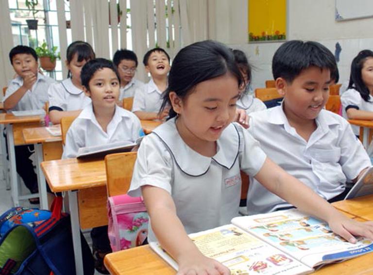 Học sinh tiểu học có chứng chỉ Tiếng Anh Quốc tế trình độ A1 (tương đương Chứng chỉ Cambridge Movers) sẽ theo học Chương trình Tiếng Anh hệ 10 năm vào lớp 6