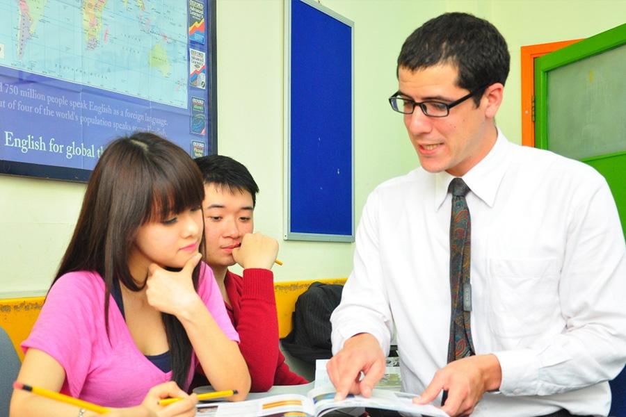 chọn giáo viên tiếng Anh